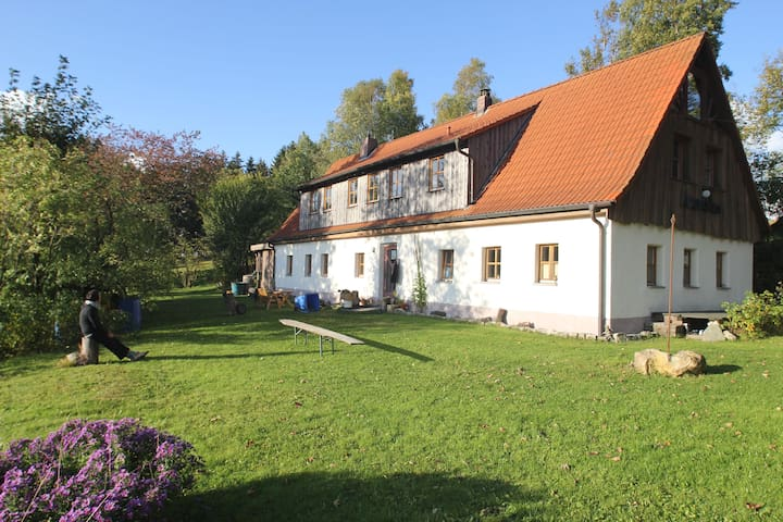 Urlaub ländlicher Idylle in Luftkurort - Bischofsgrün - Casa