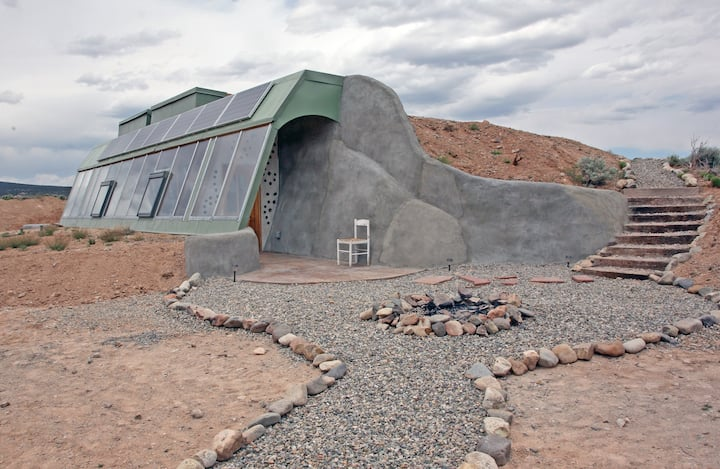 Brand New Studio Earthship