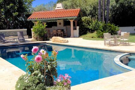 Poolside Oasis: Casa del Sol Room 1 - Santa Barbara - House