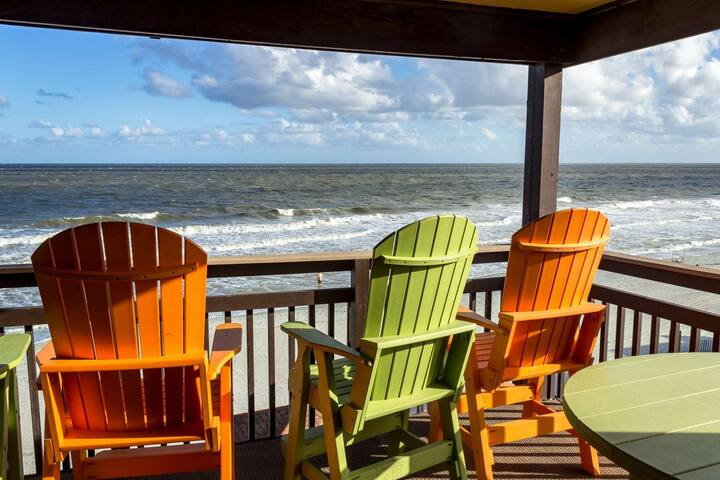 3 Bedroom Oceanfront Condo Includes Free Water Park, Aquarium, Golf & More Every Day! Afterdeck