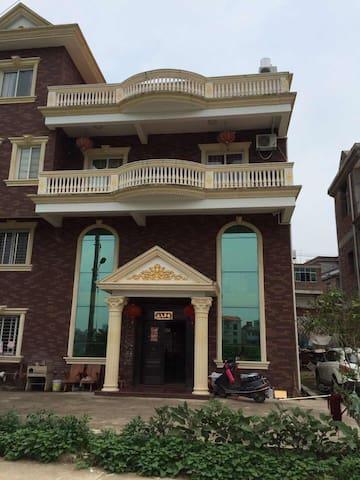 Livingroom in a townhouse  - Quanzhou - Huis