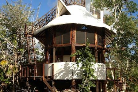 Exotic Eco House in Jungle/Cenote