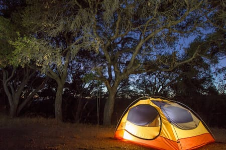 Camping on our beautiful land #3 - Soquel