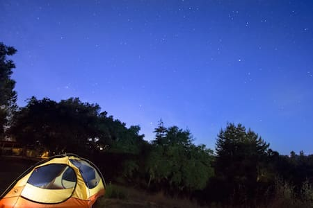 Camping on our beautiful land #2 - Soquel