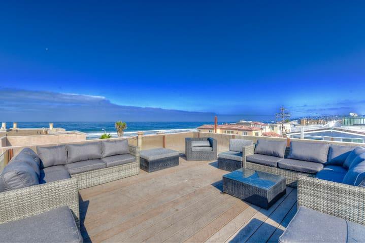OCEANVIEW 2BR+Loft+Rooftop Deck☀ULTRA MODERN