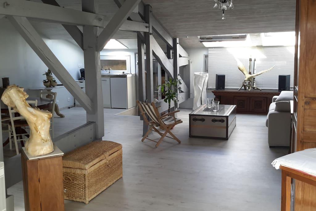 Appartement 65m2 proximit bordeaux lofts louer le haillan aquitaine l - Loft a louer bordeaux ...