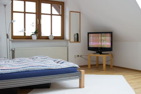 Landshut, Bavaria, sunny room