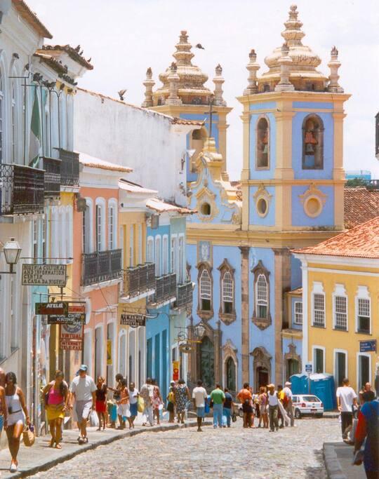 Pelourinho Centre historique