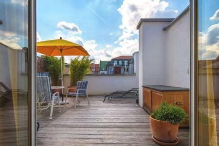 Wohnung mit Dachterrasse - Munich - Apartment