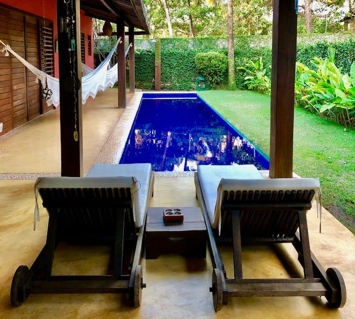 Suite privada com varanda