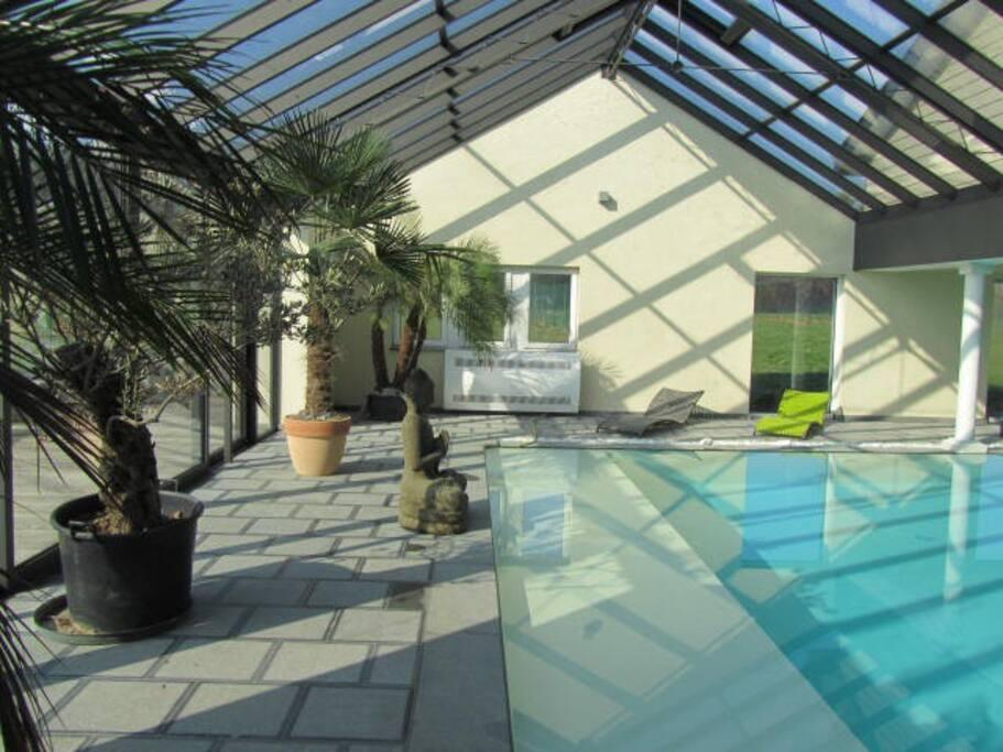 loft avec jacuzzi sauna hammam et piscine priv e guest