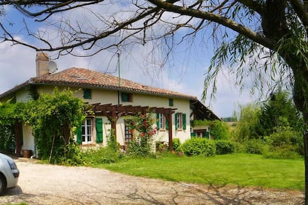 Breathtaking Views French Farmhouse - Verlhac-Tescou - 独立屋