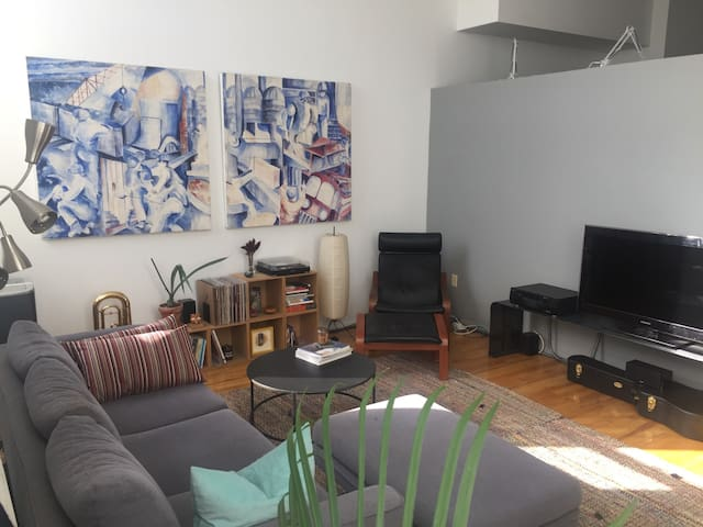 Comfortable Loft in Carroll Gardens - Brooklyn - Lakás