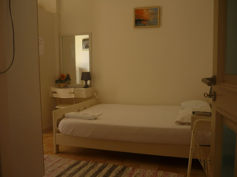 room for 2 persons and private bathroom