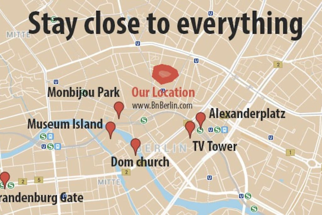 Central: We are close to the best of Berlin.