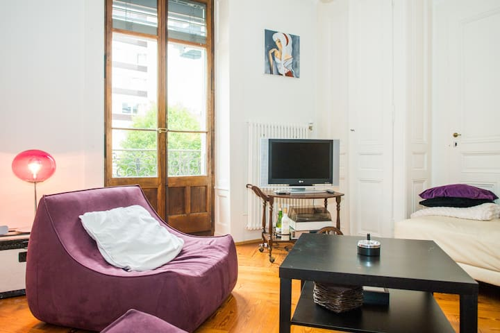 lovely flat in the center of geneva - Genève - Lägenhet