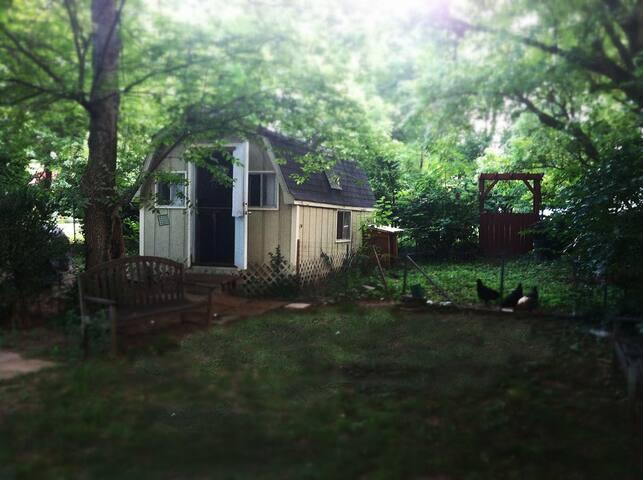 Rustic Cottage in East Nashville - Nashville - Cabane