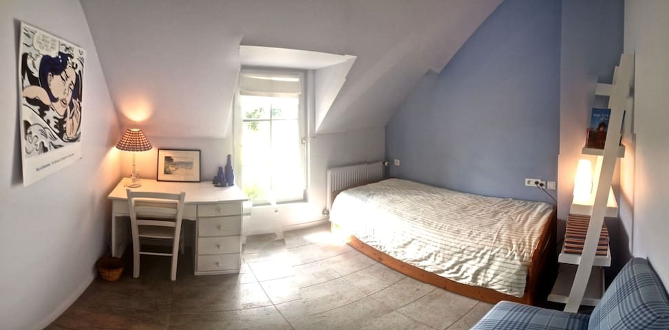 Grande longère, 12 lits, plein Sud - Plougoumelen - House
