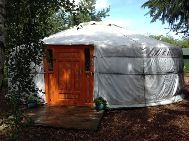 Mongolian Yurt at Haddon Acre
