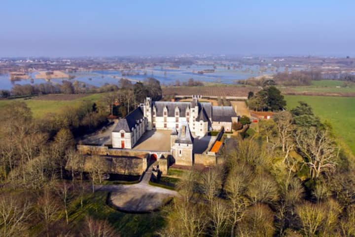 Chambre d'hôtes au château