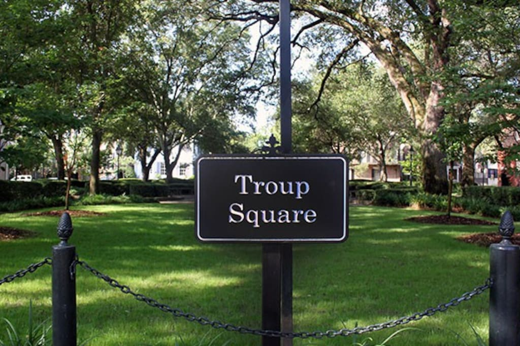 Troup Square is our home square!
