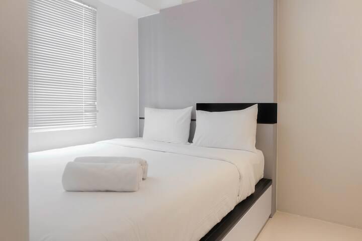 Stylish and Modern 2BR Bassura City Apartment
