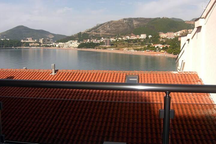 Студия с видом на море для 3-х - Rafailovići - อพาร์ทเมนท์