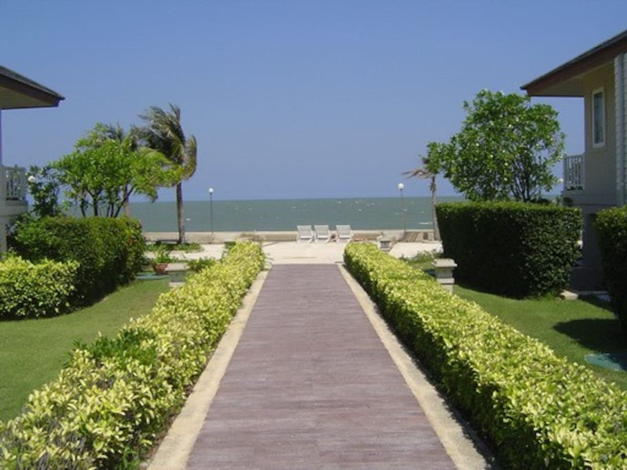 Beach Front Pavillion