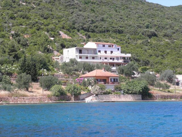 Amazing view from a B&B in Luka