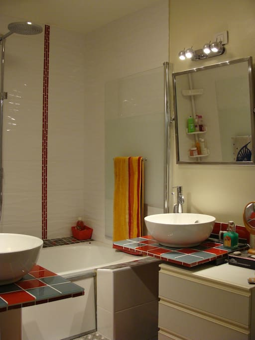 Salle de bain (2 vasques)