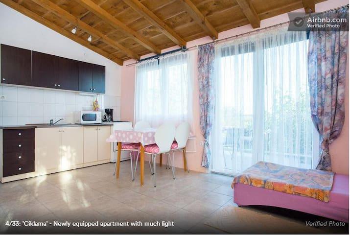 KRK Skrpčići, apartment for 4 pers. - Skrpčići - Departamento