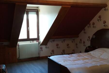 Chambre spatieuse avec salle de bain et WC privés - Langeais