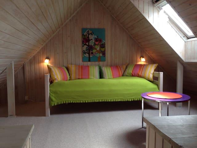 Charming quiet room&garden near Cph - Birkerød - Dům