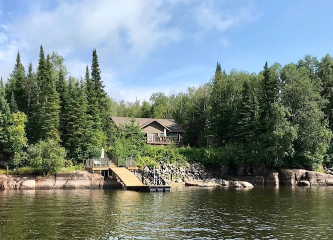 (New) Waterfront Cottage on Nutimik Lake
