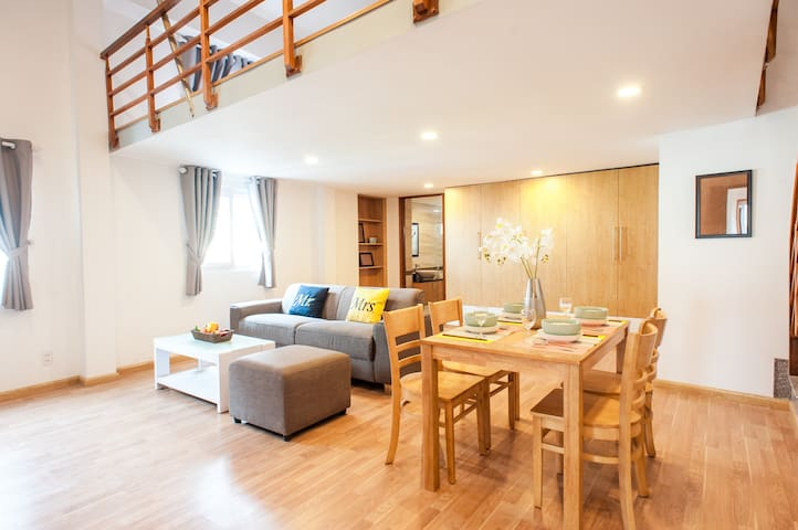 Ultra Cozy Apartment Riverside 2Bed - Ho Chi Minh City - Flat