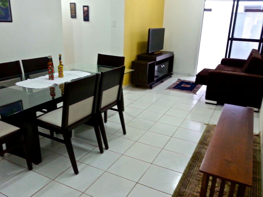 Sala 2 ambientes, vista 2