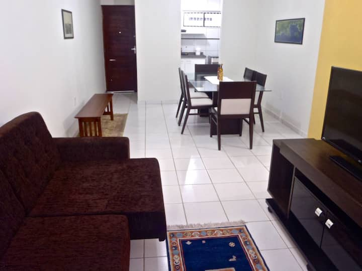 Apartamento aconchegante de 2 qtos
