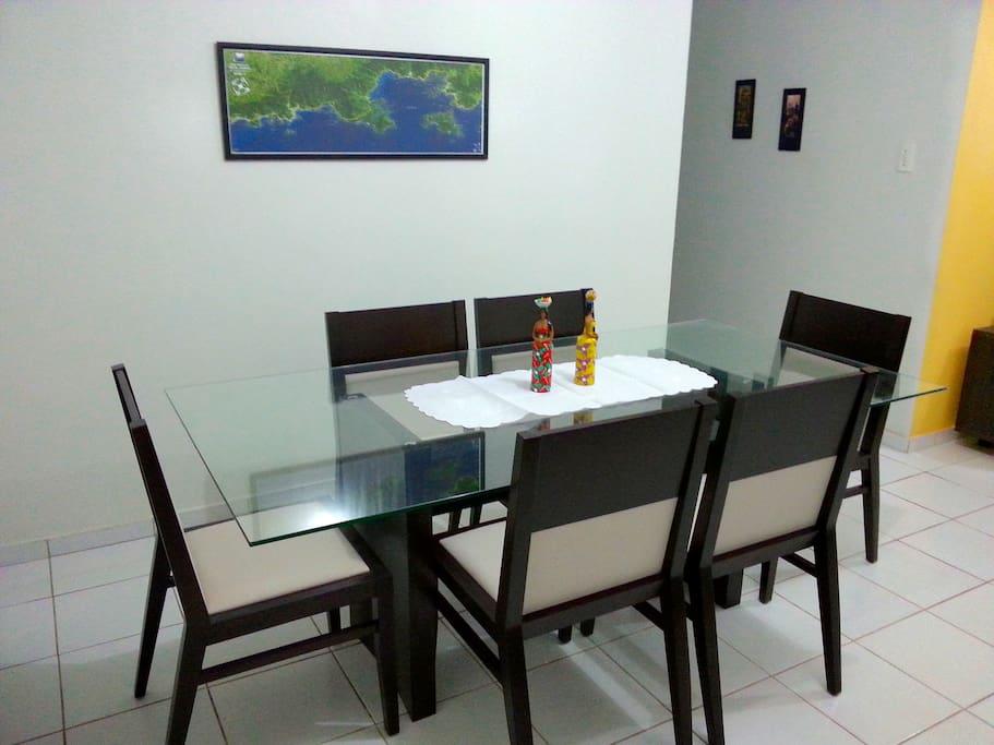Sala 2 ambientes, vista 3