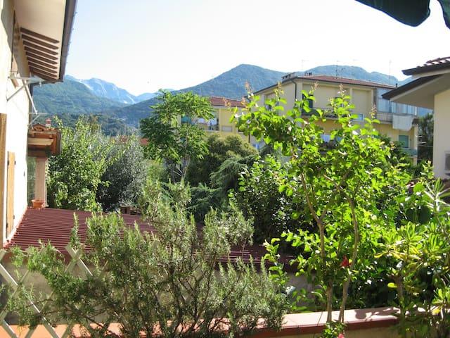 vista monti dalla terrazza