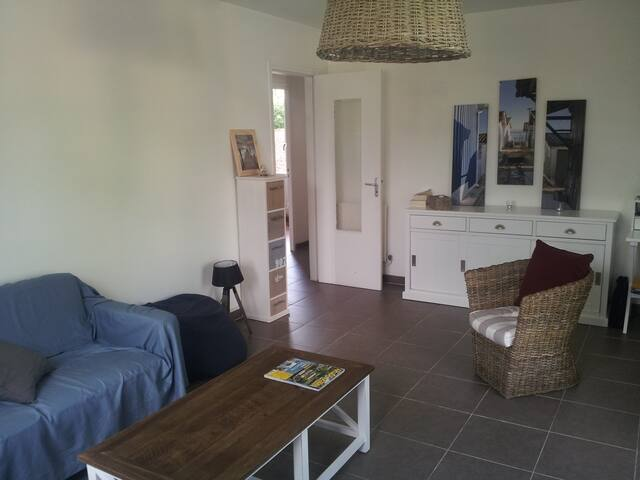 Appartement avec 2 chambres ,jardin et terrasse. - Andernos-les-Bains - Apartemen