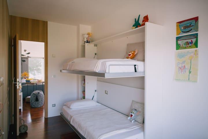 habitación 3 con literas