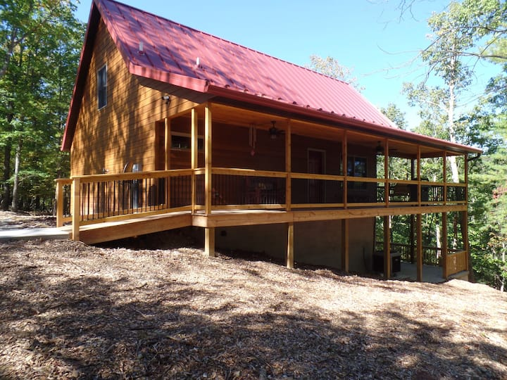 Buck Haven is a luxurious and quite wooded retreat