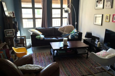 Lovely & cosy flat 85m² (duplex : 2 floors) - Valergues - Apartamento