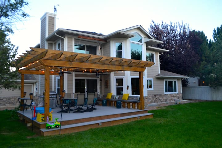 CU and Bolder Boulder home