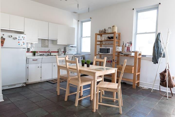 Charming Apartment Above a Culinary Landmark