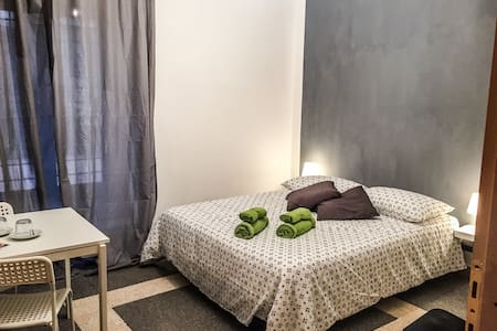 Cozy room with bathroom and garden - Roma - Apartment