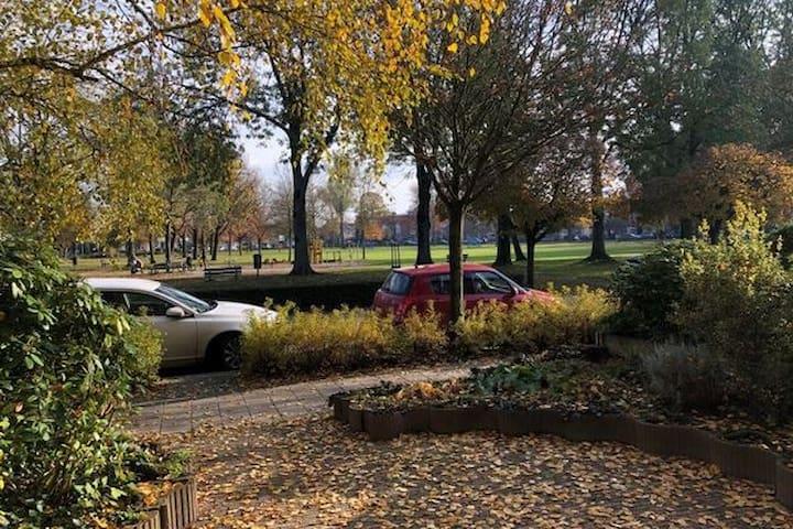 Prachtig ruim huis, centraal en toch aan een park