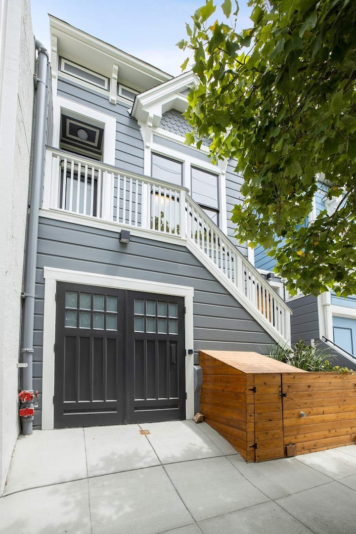 New & Historic SF home w/ flexible WFH 4 BR/3.5BA