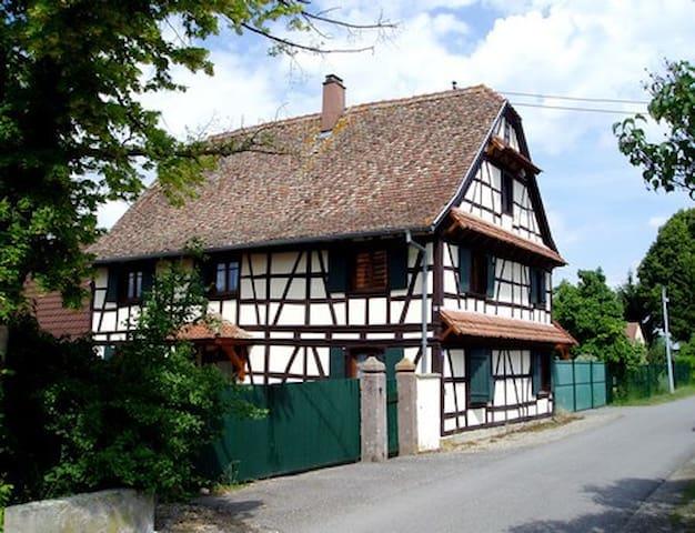 Gîte Nicole - Heidolsheim - Дом