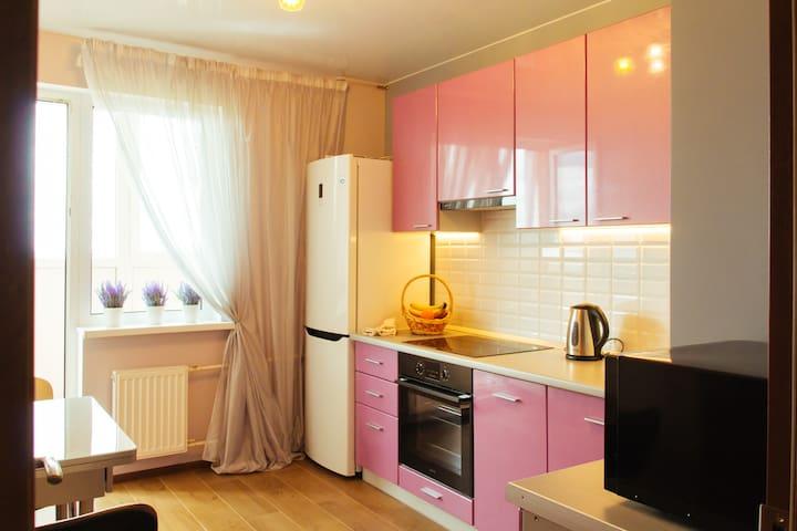Уютная квартира со всем необходимым